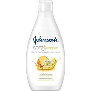 Johnsons soft & pamper body wash pineapple & lily 750 ml