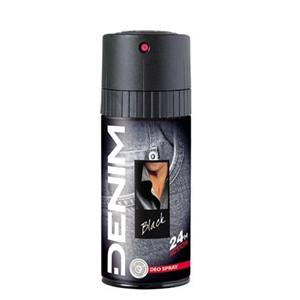 Denim deo black 150 ml, pánsky deodorant 24 h