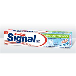 Zubná pasta Signal 75 ml family cavity protection