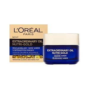 LOreal Nutri Gold Extraordinary Oil, noční krém 50ml